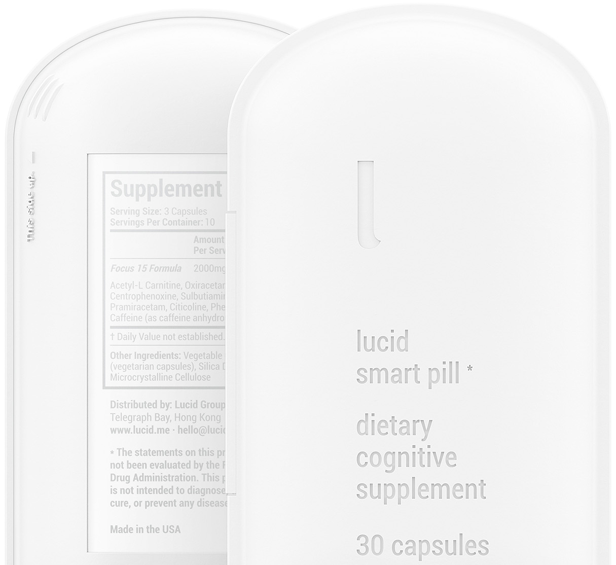 Lucid Front Rear Packaging