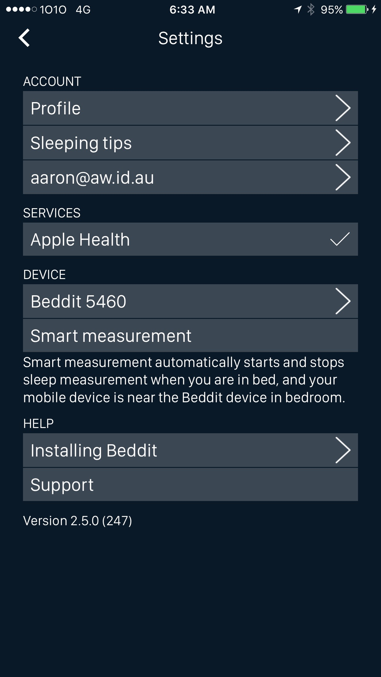 13 - Beedit Mobile Dashboard