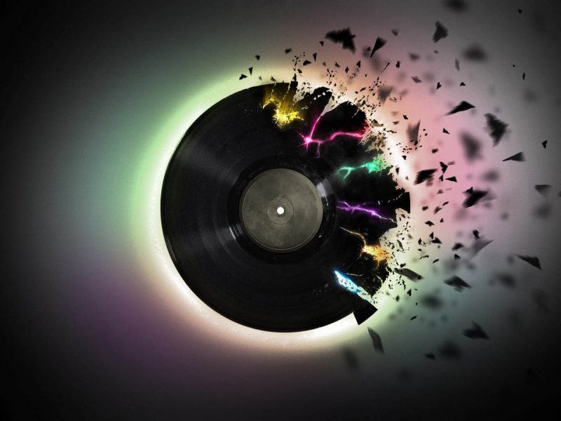 Vinyl Exploding - Music: Hacking Your Productivity