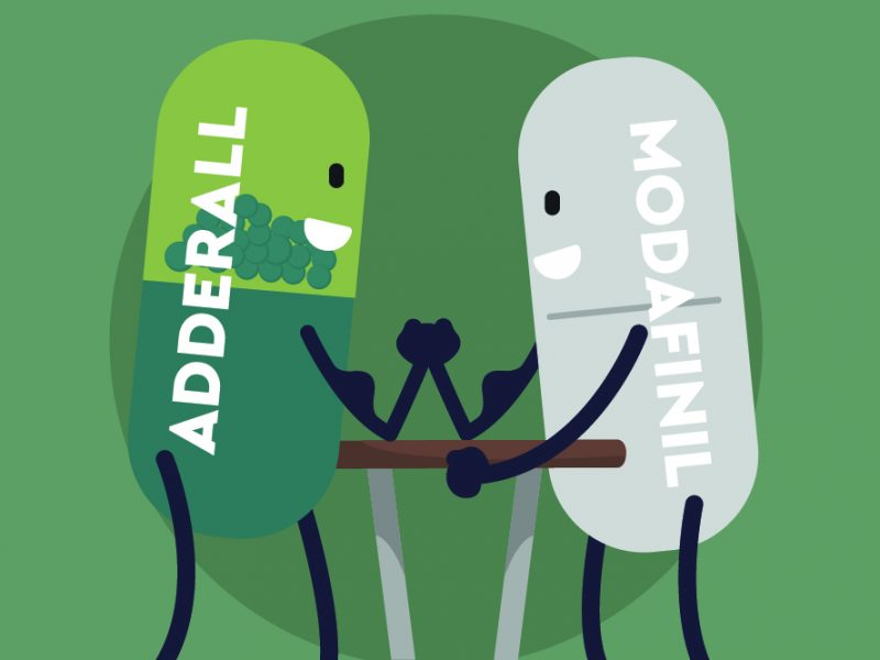 Modafinl vs. Adderall